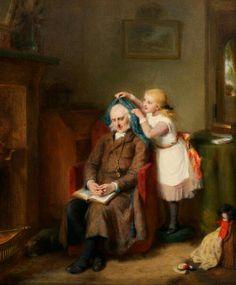 G.Bernard O'Neill/Grandfather's pet
