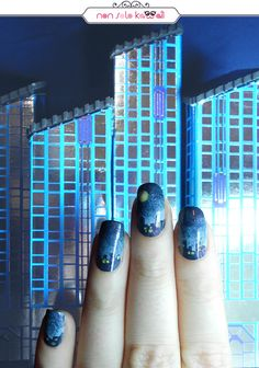 City Silence, Orly Hope & Freedom Fest. Nail Art by NonSoloKawaii.com
