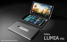 Nokia Lumia 950 Atlantis Designed by Rahul Sharma Features Quad Core CPU, 4.8 Inch Display