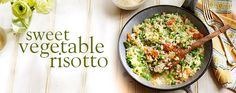 This is the easiest way to make a risotto – ever! The nutty, slightly spicy flavour of sweet potato makes it the perfect partner to the creamy rice in this simple slow-cooker dish.