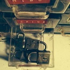 Lock, anyone? #rust #belt #americana #rustbeltamericana #vintage #junkyard #jewelry #lock #key #antique