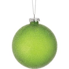 Regency 4-Piece Lime Glitter Ball Ornaments ($13) ❤ liked on Polyvore featuring home, home decor, holiday decorations, lime green home accessories, lime green home decor, glitter ornaments, lime green ornaments and glitter ball ornaments