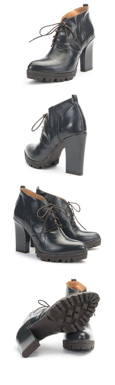 Make a strong statement with the Bianze ankle boot! #AlbertoFermani
