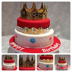 LA Kings Hockey Birthday Cake a Birthday Cake RoundUp