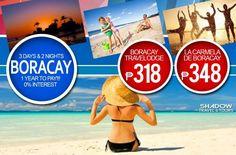 1 Year to Pay Super Sale! Boracay @ La Carmela De Boracay 3D2N