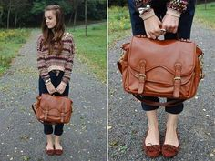 German Fashion Style | AC BAG large Alexa Chung Bag German Street Style My Face Hunter