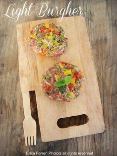 Ogni riccio un pasticcio - Blog di cucina: Light - Burgher