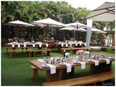 Numinis Eventos: Dica de Recepção de Casamento: Almoço
