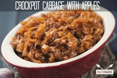 Crockpot Cabbage With Apples