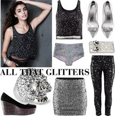 """All that glitters"" by hmlife ❤ liked on Polyvore"