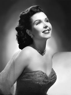 """Johnnie Lucille Collier, known professionally as Ann Miller, was a dancer, singer and actress. She is remembered for her work in Hollywood musical films of the and Some of her notable films were """"Kiss Me Kate"""", """"Easter Parade"""" and """"On The Town"""". Hollywood Stars, Hollywood Icons, Golden Age Of Hollywood, Vintage Hollywood, Hollywood Glamour, Hollywood Actresses, Classic Hollywood, Actors & Actresses, Classic Movie Stars"""