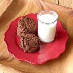 The Food Pusher: Double Chocolate Almond Flour Cookies