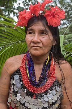 Panama: Chagres River, Embera village