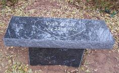 Granite benches offer a peaceful place to relax, reflect, and remember your loved one. we are here to help you create a personal monument. Cheap Headstones, Peaceful Places, Outdoor Furniture, Outdoor Decor, Cemetery, Granite, Memorial Ideas, Dads, Relax