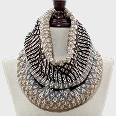 Geo Infinity Scarf – The Bling Boutique