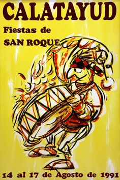 Fiestas San Roque Calatayud 1991