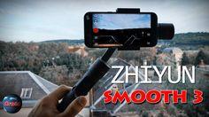 Pour #smartphones #Android et #IOS. Stabilisateur 3 axes Smooth 3 de chez Zhiyun.
