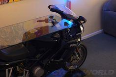Custom Ducati Motorcycle Table and Bar – Cycle World