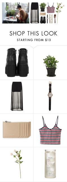 """articulate"" by allyrobin ❤ liked on Polyvore featuring Vous Etes, Benetton, Shinola, Yves Saint Laurent, OKA, Fresh and Andy Warhol"