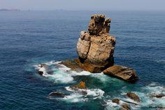Peniche, Cabo Carvoeiro Portual Portugal, Photos, Pictures, Cabo, Lion Sculpture, Entourage, Statue, Water, Fun