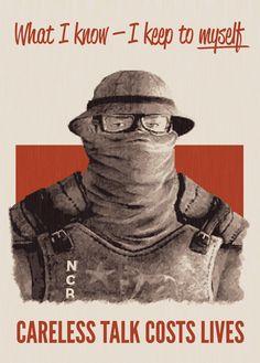 Fallout NCR poster. www.nubetube.net