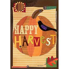 "Wells Street by Lang 6200008.0 28 x 40"" Happy Harvest Flag by Holli Conger, Large Lang http://www.amazon.com/dp/B00YABBKYA/ref=cm_sw_r_pi_dp_PAXKvb01NXJCD"
