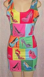 """The weekend is coming, do you have your """"Bad Girl Dress""""?  The Shoe Fetish Dress is available online at Lyfestylz Plus http://xwrft.mwvdz.servertrust.com/product_p/shoe-fet.htm"""