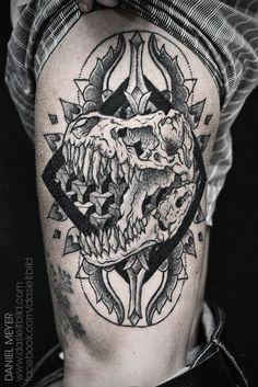 Tatuagens de dinossauros para pirar - Tinta na Pele | Tatuagem