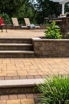 Let us help you to create the steps of your dreams! Cambridge Pavingstones with ArmorTec will be sure to be the envy of your guests. Installation: DC Contracting