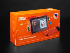 Kano Computer Kit Complete with Touch Screen Young Engineers, Antivirus Software, Diy Electronics, Bring It On, Kit, Computers, Projects, Touch, Christmas