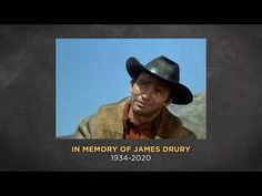 INSP Mourns the Loss of James Drury. He's independent, a mysterious man of few words, who fights for justice, a man with no name, other than The Virginian. James Drury, Fight For Justice, Actor James, The Virginian, Great Western, God Prayer, We Remember, No Name, Guy Pictures