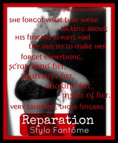 Reparation (The Kane Trilogy #3) by Stylo Fantome