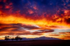 Pikes Peak Sunset by Lars photography.