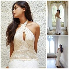 Lace Temptation.  This is a beautiful pictorial by gorgeous @ineescosta, the amazing blogger behind Lace and Fur <3 For this collaboration, Inês has chosen #Jarlo #SS15 #Priscilla maxi dress in ivory <3