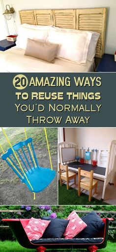 20 Amazing Ways To Reuse Things You'd Normally Throw Away