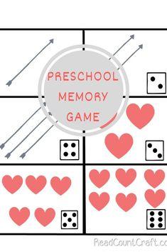 Preschool Math Memory Game builds all math skills and social skills Preschool Math Games, Math Literacy, Preschool Activities, Math Skills, Social Skills, Subitizing, Kindergarten Books, Curriculum Planning, Math Practices