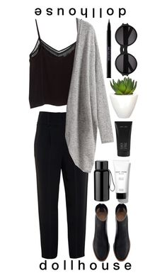 """""""everyone thinks that were perfect"""" by the-perks-of-being-an-equestrian ❤ liked on Polyvore featuring Bobbi Brown Cosmetics, Givenchy, MANGO, Pomax, Lalique, Stelton, Yves Saint Laurent and Urban Decay"""