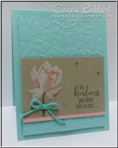 Lotus Blossom, Stampin' Up!, Saturday BLOG HOP for Create with Connie and Mary, #stampinup, Connie Babbert, www.inkspiredtreasures.com