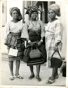 throwback: my grandmother in nigeria circa 1970's  #Nigerian Fashion #1970's