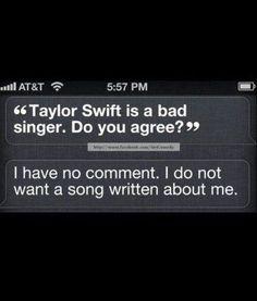 Siri knows best