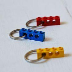 Building Block Key Ring