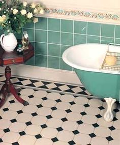 Bathroom Floor Tiles Flooring, Victorian Style Bathroom Floor Tiles
