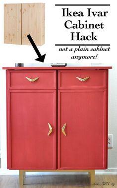 Ikea Ivar Hack | Ikea Ivar sideboard hack
