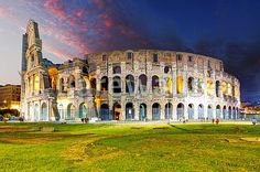 """Rome - Colosseum"" - Rome posters and prints available at Barewalls.com"