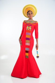 latest african fashion look 096 Zulu Traditional Wedding Dresses, Zulu Traditional Attire, South African Traditional Dresses, Traditional Outfits, Xhosa Attire, African Attire, African Wear, African Dress, African Fashion Designers