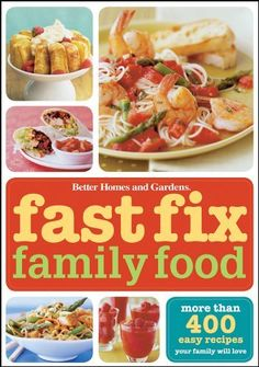 Fast Fix Family Food, 2008. Paperback.
