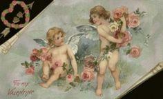 Vintage Valentine's Day Images   Public Domain