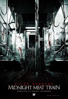 """The Midnight Meat Train (2008) - Photographer witnesses brutal murders & horror on late night subway train. Worth a watch. Though it had a predictable ending, it also had an original storyline, wicked humour, good gore & some squirmalicious moments. All-star cast led by Bradley Cooper & Vinnie Jones. The CGI dragged it down for me & the """"creatures"""" were too fake looking, but still worth watching once."""
