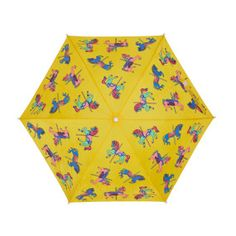 0f76c99d4fa Colour changing carousel horse umbrella watering can wet Childrens  Umbrellas