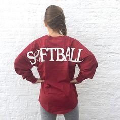 SOFTBALL GRAPHIC Football Jersey Pullover